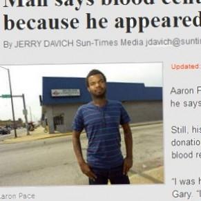 Un hétéro exclu du don de sang parcequ'il paraît homo - USA