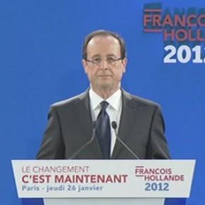 Hollande prend 60 engagements, dont le droit au mariage et à l'adoption pour les couples homosexuels
