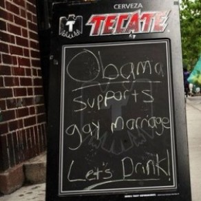 A New York, les homosexuels applaudissent l'annonce d'Obama