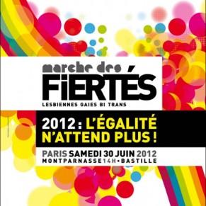 Paris défile le 30 juin sur le mot d'ordre <I>l'égalité n'attend plus!</I> - Marche des fiertés 2012
