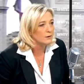 Marine Le Pen pour une objection de conscience des maires - Mariage pour tous