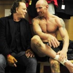 Gareth Thomas et Mickey Rourke ensemble dans les bars gay de Londres - Biopic