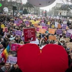400.000 pro-mariage homosexuel dans la rue