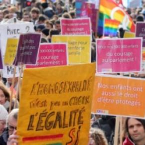 Les slogans de la manif pro-mariage homo - Egalité