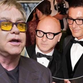 Elton John appelle à boycotter Dolce & Gabbana pour défendre les enfants conçus in vitro