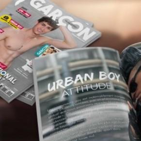 <I>Garçon magazine</I> tente sa chance en kiosques  - Presse gay