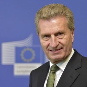 Le commissaire Oettinger sur la sellette pour ses propos sur le mariage gay - Commission européenne