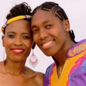 Mariage de la championne olympique Caster Semenya avec sa compagne   - Afrique du Sud