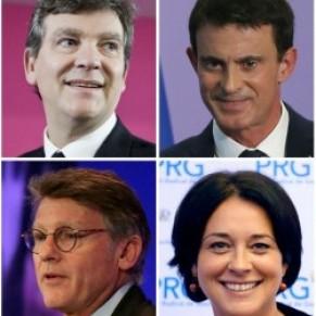 Les candidats favorables à la PMA, sauf Montebourg et Valls - Primaire de la gauche