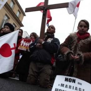 6% des cathos engagés se déclarent proches de la Manif pour tous - Religion catholique