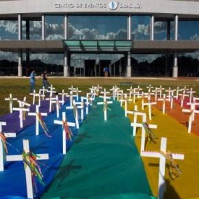 Le Brésil compte la moitié des meurtres de LGBT dans le monde - Statistiques
