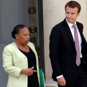 Taubira réplique à Macron sur les <I>humiliés</I> de la Manif pour tous