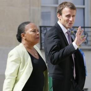 Macron répond sèchement à Taubira sur le mariage homosexuel