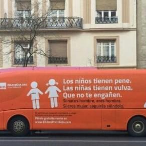 Un bus de propagande anti-genre parcourt le pays  - Espagne
