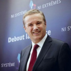 Elu, Dupont-Aignan ne remettrait pas en cause le mariage homosexuel - Présidentielle