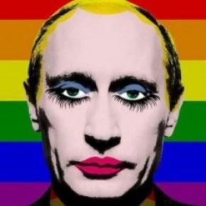 La justice russe interdit une photo de Vladimir Poutine maquillé