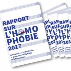 Avec la campagne électorale, recrudescence en 2016 des actes homophobes - Rapport SOS Homophobie 2017