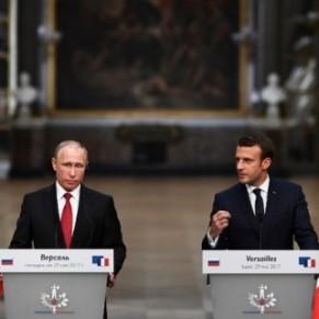 Emmanuel Macron a évoqué les persécutions anti-gay avec Poutine