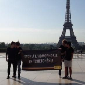La France a accueilli un premier réfugié homosexuel tchétchène