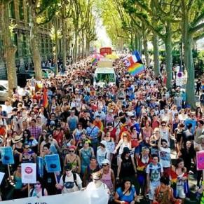 La Lesbian et Gay Pride réunit 12.000 personnes - Lyon