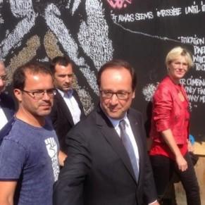 Solidays en baisse de fréquentation, visite de François Hollande - VIH/Sida