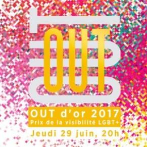 Première cérémonie jeudi des Out d'or pour la visibilité des LGBT