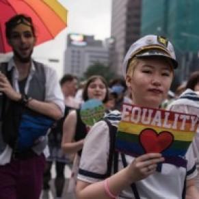 Samedi tendu à Séoul entre gay pride et rassemblement homophobe - Corée du Sud