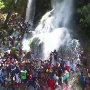 La cascade de Saut-d'Eau, asile pour la communauté LGBT - Haïti