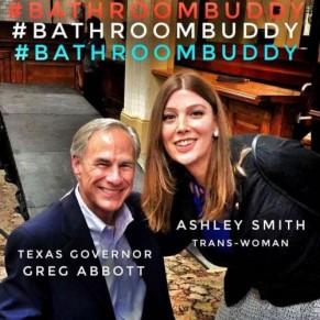 Le gouverneur transphobe du Texas piégé par une photo avec une militante transgenre - Etats-Unis