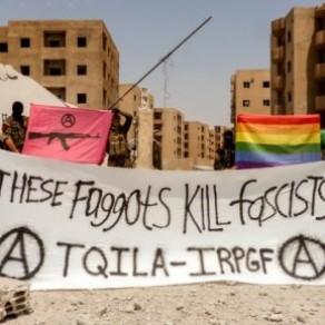 Une mystérieuse unité de combattants LGBT contre Daesh baptisée TQILA - Syrie / Irak
