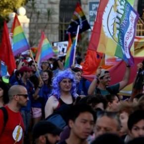 Des milliers de personnes à la Gay Pride de Jérusalem - Israël