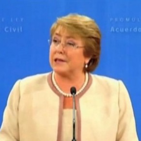 La présidente Michelle Bachelet va engager la légalisation du mariage gay - Chili