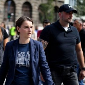 La Première ministre serbe, lesbienne, à la Gay pride de Belgrade - Serbie