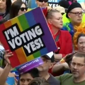 Le sondage final sur le mariage gay prédit une forte victoire du Oui - Australie