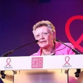 Françoise Barré-Sinoussi, prix Nobel de médecine, succède à Pierre Bergé à la tête de Sidaction - VIH