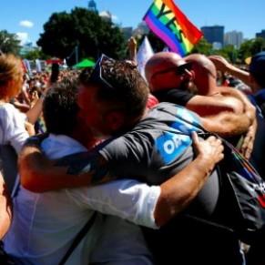 Les Australiens ont largement voté en faveur du mariage gay