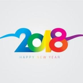 Meilleurs voeux pour 2018 ! - Nouvelle année