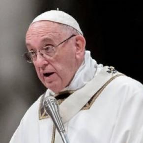 Le pape prône l'union sacrée entre un homme et une femme - Mariage / Famille