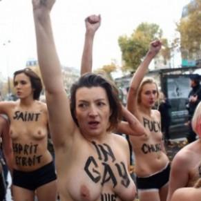 L'association catholique intégriste Agrif perd définitivement son procès contre six Femen - Mariage pour tous