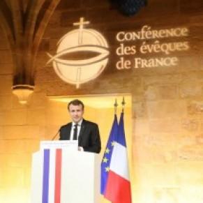 Christine Boutin salue le discours d'Emmanuel Macron sur les catholiques