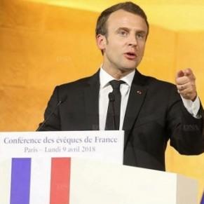 Macron se met à dos les assos LGBT pour avoir dit que l'Église <I>accompagne les familles homosexuelles</I> - Eglise catholique