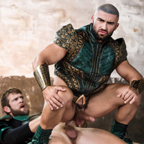 JUSTICE LEAGUE - A GAY XXX PARODY ; la touze des super héros - DVD / Men.com