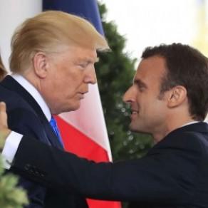 Benjamin Griveaux dénonce <I>l'humour gras, avec une touche d'homophobie</I> de Hollande - Couple Trump-Macron