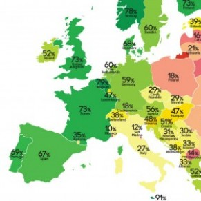 Les droits LGBT stagnent en Europe selon l'ILGA  - Rainbow Map 2018
