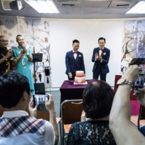 A Hong Kong, les mariages gays dans le placard - Asie