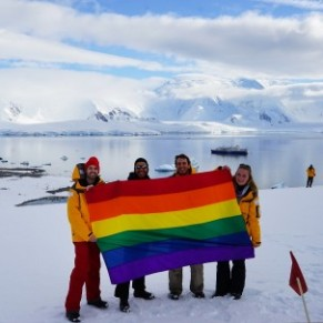 La fierté LGBT arrive en Antarctique - Gay Pride
