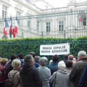 Prison ferme pour Moussa, demandeur d'asile guinéen militant à Aides  - Lyon