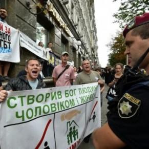 A Kiev, une gay pride sous haute protection face à l'extrême droite - Ukraine