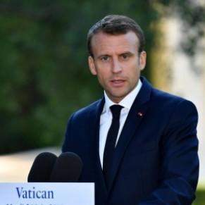 A Rome, Macron a plaidé pour la reconnaissance <I>des projets de vie</I> des couples de même sexe - Visite au Vatican