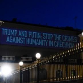 Le sort des gays tchétchènes illumine le palais présidentiel avant le sommet Trump-Poutine à Helsinki - Finlande